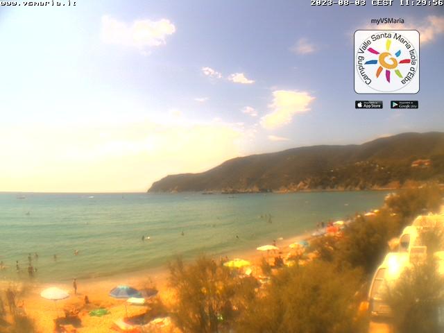 Веб камера острова Эльба